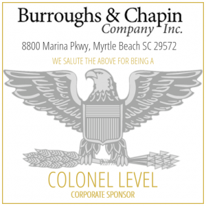 Burroughs & Chapin Company proudly sponsor the SC Troopers Association