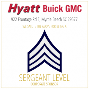 Hyatt Buick GMC proudly sponsors the SC Troopers Association