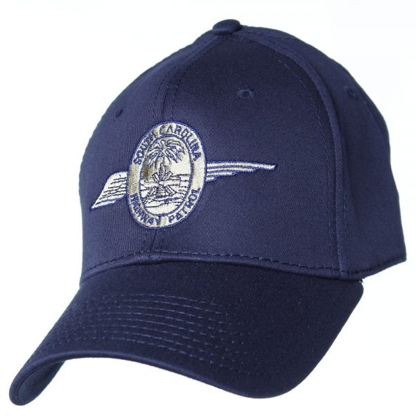 Otto flex fitted wing hat front