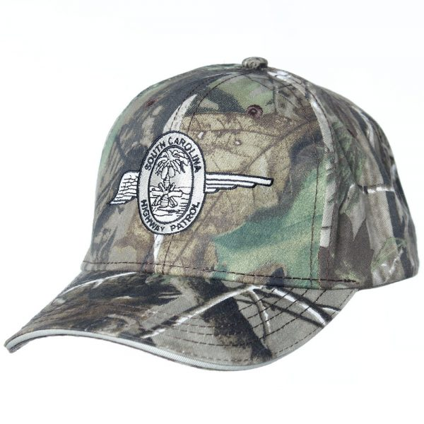 Realtree camo wing hat front