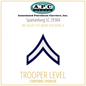 Associate Petroleum Carriers proudly sponsors the SC Troopers Association