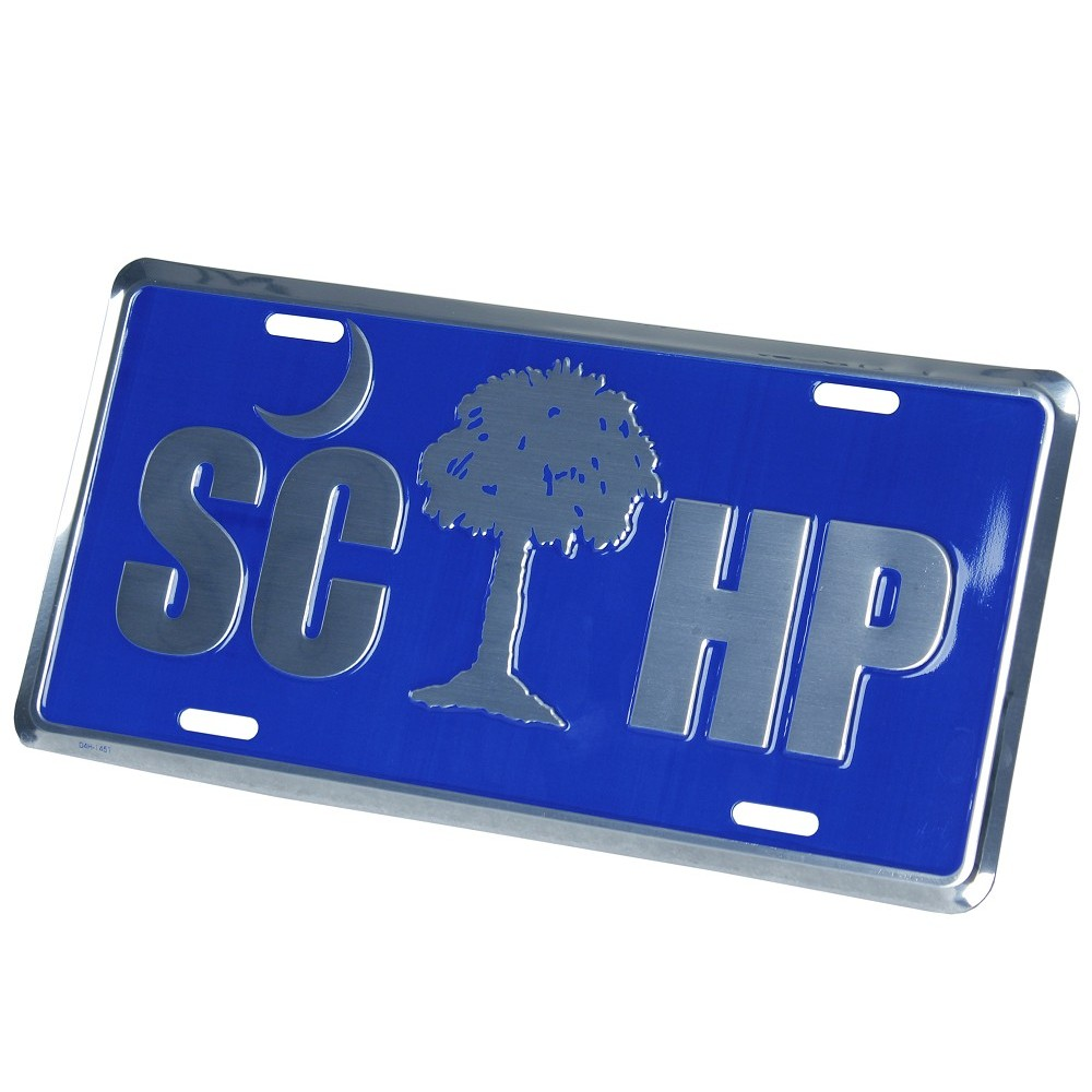 SCHP Palmetto Tree Tag front
