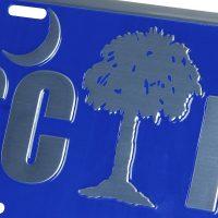 SCHP Palmetto Tree Tag detail