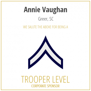 Annie Vaughan proudly sponsors the SC Troopers Association
