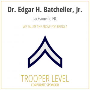 Dr. Edgar H. Batcheller, Jr, proudly sponsors the SC Troopers Association