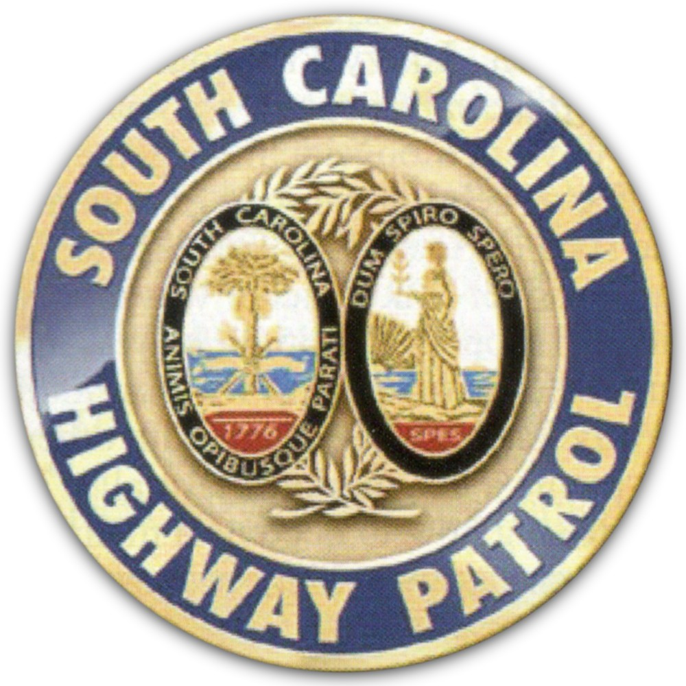 2017 SC Highway Patrol Challenge Coin front